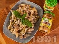 Приготвяне на рецепта Пиле жулиен с артишок